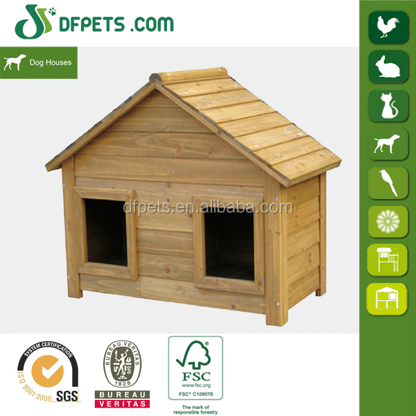 DFPETS DFD3020 Double Door Wooden Animal Cage For Dog