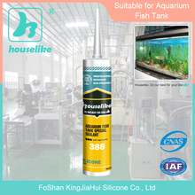 Foshan Factory good price and quality special large glass acetic silicone caulking sealant 388