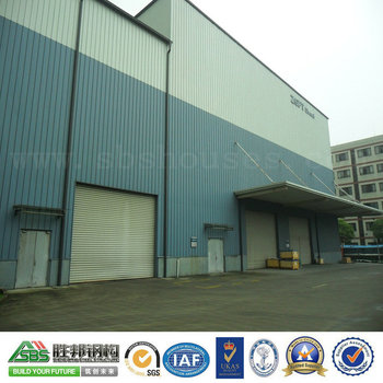 Light Qualified Prefabricated Steel Structure Workshop