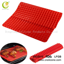 Pyramid Pan oem fat reducing silicone baking mat fat-reducing Silicone Cooking Mat