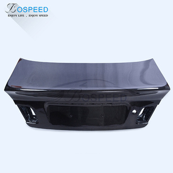 1998-2005 C Style Carbon Fiber Rear Trunk Lid For BMW E46 4DR