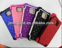 Luxury Mobile Phone diamond case for samsung i9100