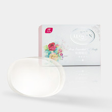 Transparent Rose Essential Oil Cleansing Bar Soap for Body Use