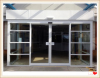 Maxdor large front door hotel automatic glass sliding doors