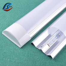 Supermarket 18w smd 2835 indoor ceiling high bay led linear batten tube light 2ft/60cm/0.6m