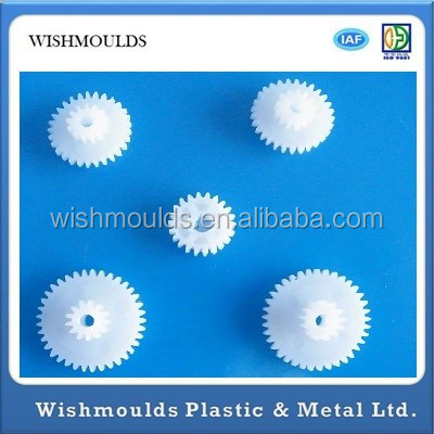 High Precision custom POM Nylon single/double plastic spur gear