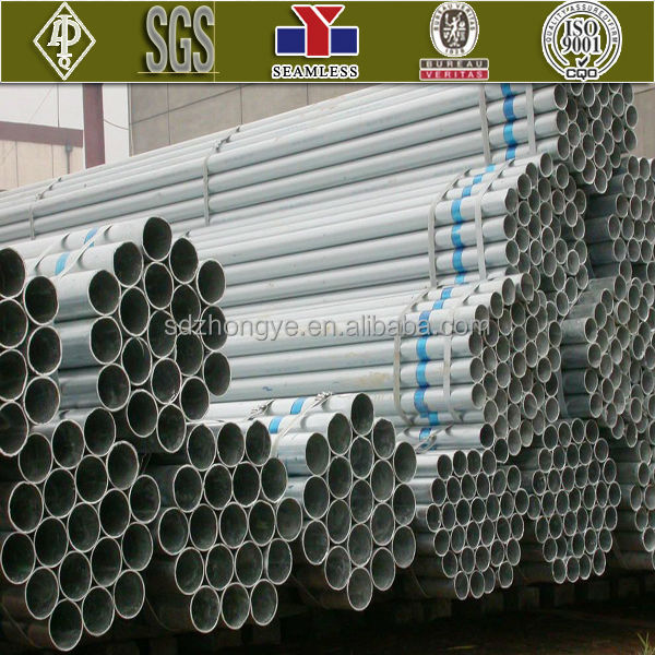 galvanized steel pipe large tube new China products for sale