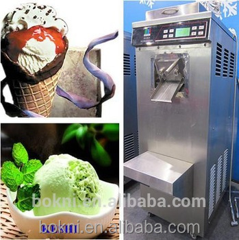 High efficiency BKN-80 hot sale high quality hard ice cream powder mix with CE approved with imported parts
