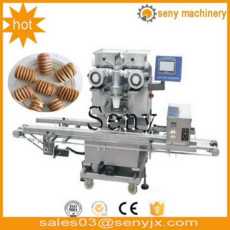 Special hotsell cream puff encrusting making machine