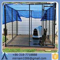 Pet product for dog welded & chain link dog carrier/crate/ cage/run