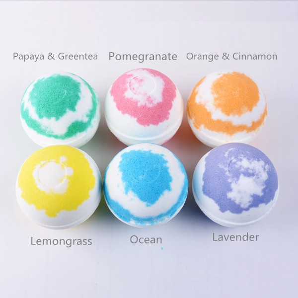 2017 high quality Bath Bombs All Natural Essential Oils wholesale organic natural bath bombs gifts soap