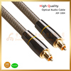 Optical Audio Cable, toslink to toslink, metal assembling