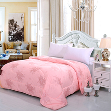 bedding sets wholesaleb pink cheap printed 100% polyester fabric microfiber filling comforter/duvet/quilt