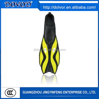 Custom full foot pocket fins diving equipment diving full foot fins