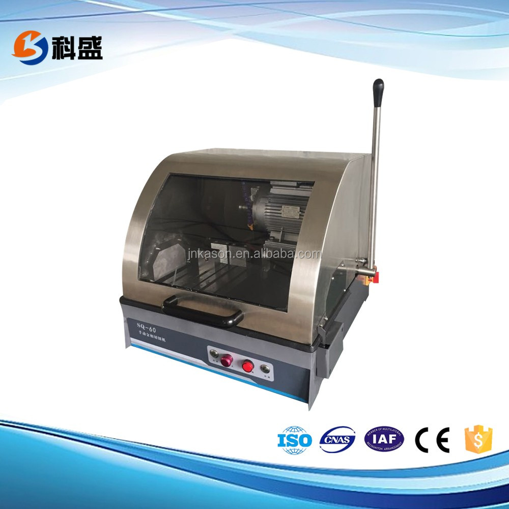 SQ-60 60mm metallographical sample cutting machine with sanding wheel