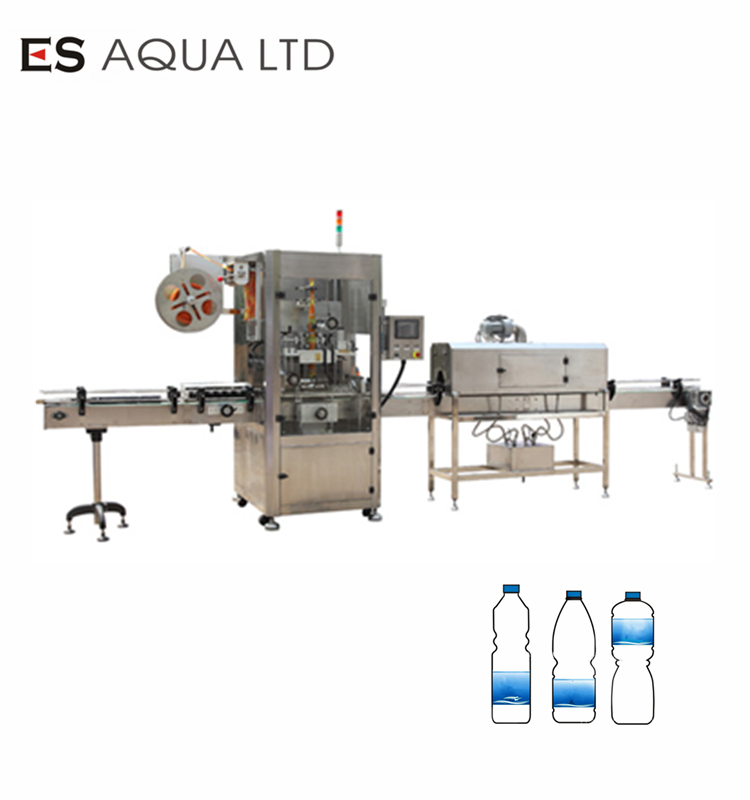 Automatic PET Bottle Shrink Sleeve labeling Machine/PVC shrink sleever
