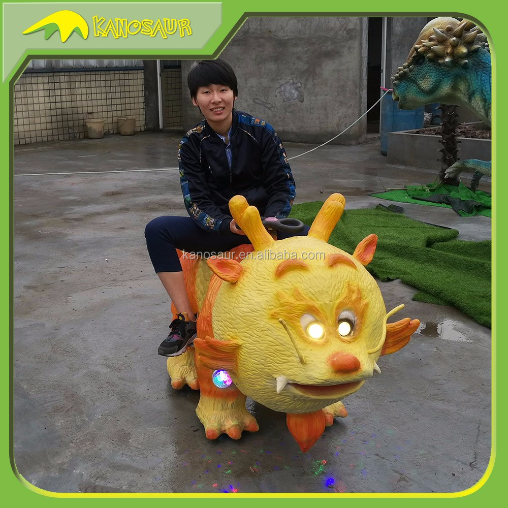 KANOSAUR0356 Theme Park Attractive Dinosaur Ride Toy For Kid