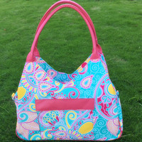 Wholesale lilly pulitzer Tote bags Microfiber Duffle Bag Lilly Weekender Travel Bag with Free Shipping Via FedEx DOM106338