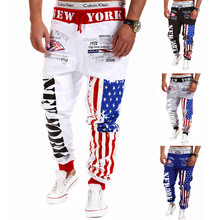 2016Wholesale Motorcyle Balloon Fit Pants For Men