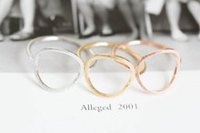 open round unique couple silicone finger ring gold wedding rings in a crown for women