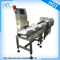 FDA standard conveyor belt food metal detector for salami