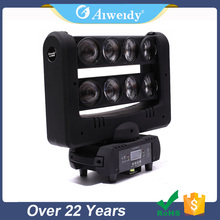 8 Eye Bar 8*10W Full Color LED Spider Beam Moving Head Light