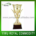 Top Quality Handmade Big Gold Metal Trophy