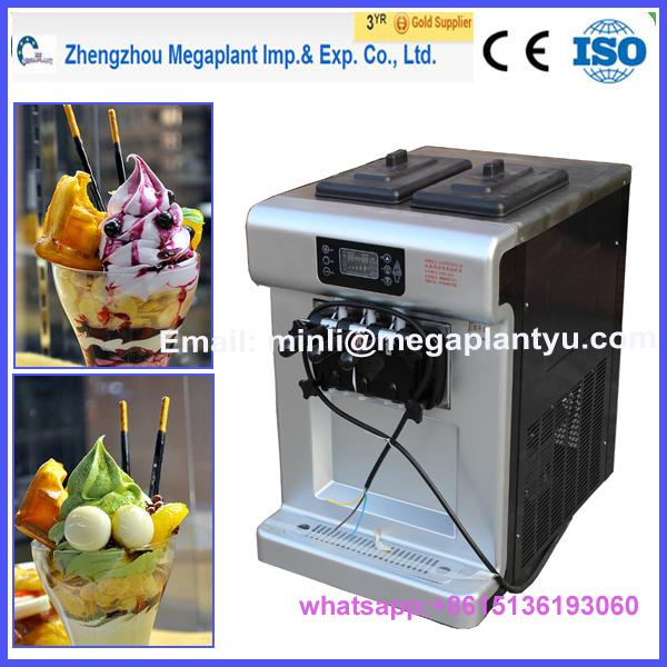 counter top frozen yogurt machine