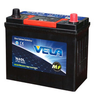 Korean car battery N40 maintenance free battery for sale