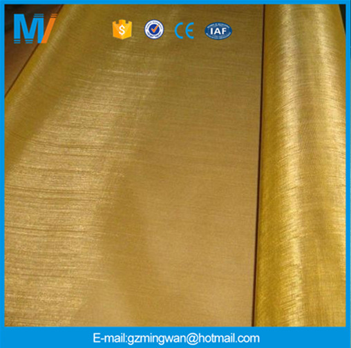 Hot Sale 80 Mesh 100 Mesh Brass Copper Wire Mes