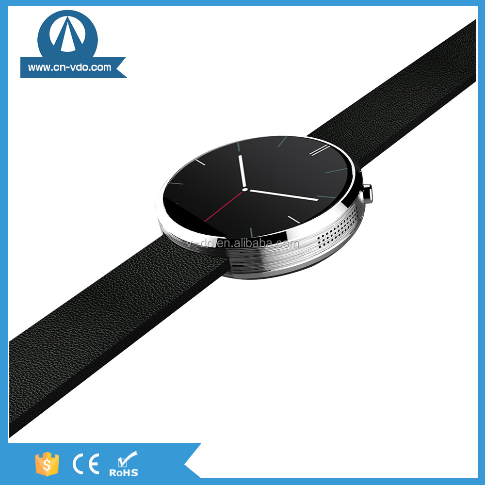 factory direct sale smart steel wrist watch women with heart rate monitor and Steel shell