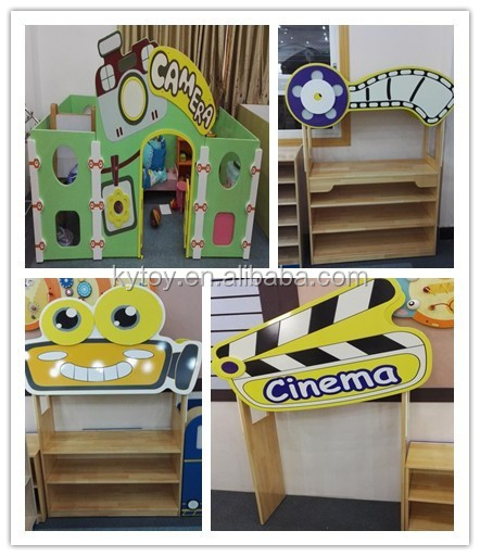 New wooden kids playhouse furniture