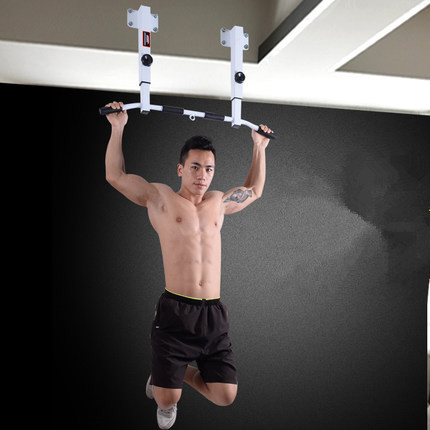 Adjustable Ceiling Wall Mount Chin Up Pull-Up Bar