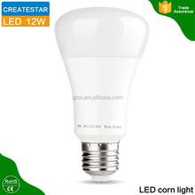 High lighting greenergy lamp smd5730 led corn bulb 12w e27