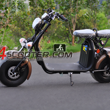 EEC citycoco motorcycle electric scooter with seat