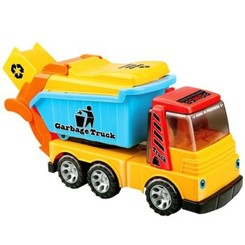 fct-15820186 Cartoon friction garbage truck toy
