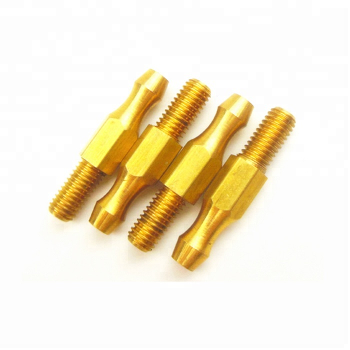 OEM <strong>CNC</strong> Turning Parts Lathe Machinery , Brass <strong>CNC</strong> Turned Parts