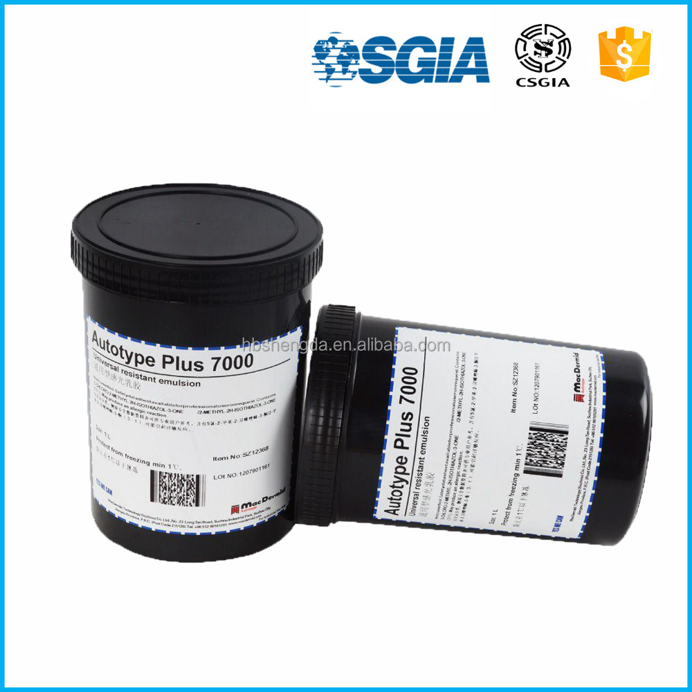 Autotype Plus7000/Screen Printing ink / Elusion Coating