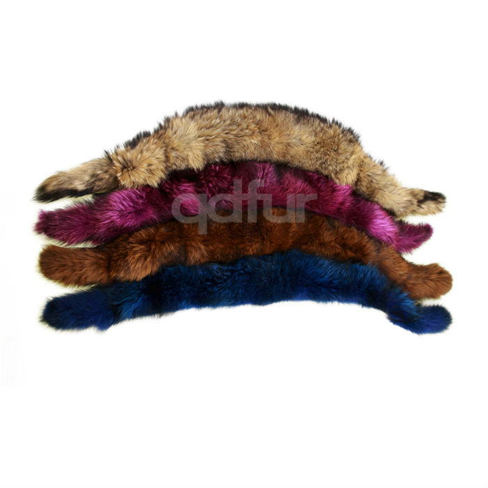 QD30424 New Design Winter Warmer Detachable Raccoon Fur Collars