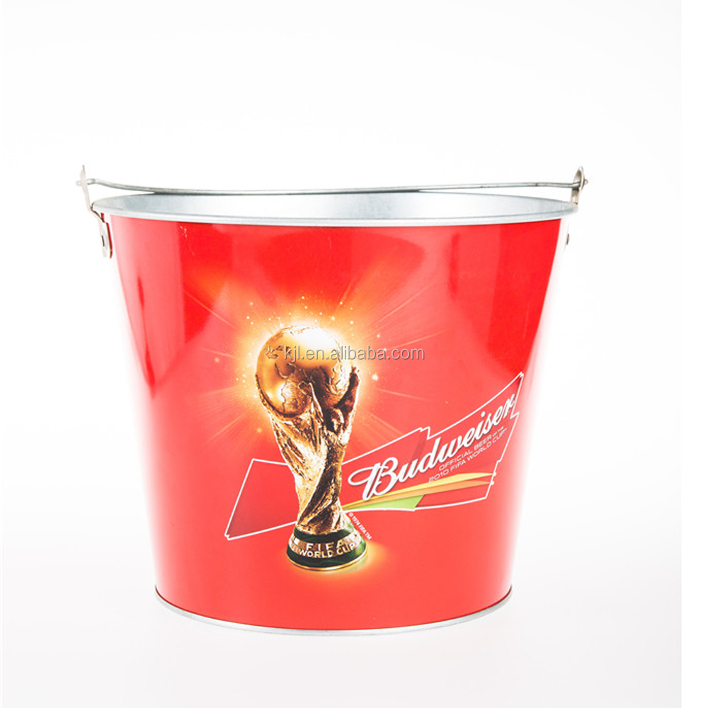 Ice bucket Wholesale protional tin beer bucket ice bucket for bar