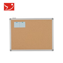 China Supplier wall mounted 1mm natural notice cork sheet board