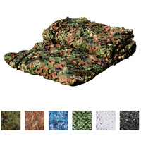 Customized Size Woodland Camo Netting Hunting