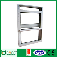 Aluminum Single Hung Window Double Hung Window Exported To Australia