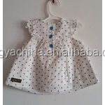 fabric for children clothing,latex adore clothing for children,white dot printed on the white jersey sleep wear