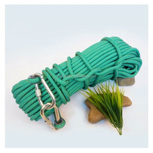 factory price 8mm polypropylene braided rescue rope/8 strand polypropylene rope