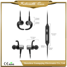 China factory supply stylish branded bluetooth magnetic headphones