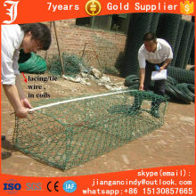 practical steel wire mesh welded gabion box