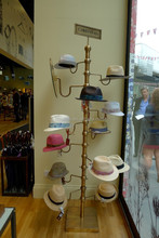 fashionable multi-standing hat stand fitted hat stand rack