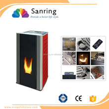 stainless steel 18 kw hydro water heating pellet stove for sale