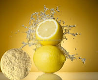 Organic spray dried lemon extract powder for beverage